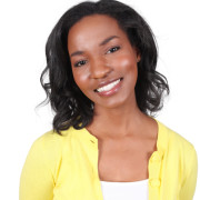Black yg woman in yellow