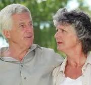 Mature Couple Talking 2
